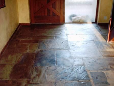 Sandstone Hallway